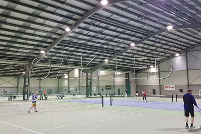 Indoor sports lighting
